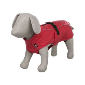 Trixie kabanica za pse Vimy L crvena, 62 cm