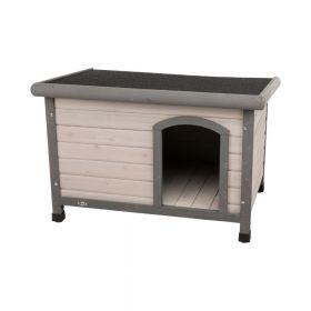 Trixie drvena kućica za pse s ravnim krovom, veličina M-L