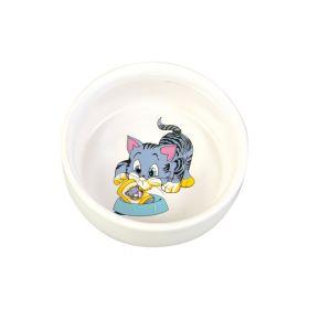 Trixie posuda keramička za mačke 0,3 l/fi-11 cm