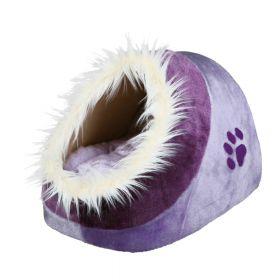 Trixie ležaj za mačke Minou 35x26x41 cm ljubičasti