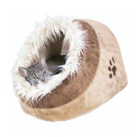 Trixie ležaj za mačke Minou 41x30x50 cm smeđe/bež