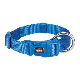 Trixie ogrlica za pse Premium M-L 35-55 cm/20 mm, kraljevski plava