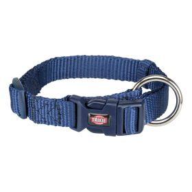 Trixie ogrlica za pse Premium M-L 35-55 cm/20 mm, tamnoplava