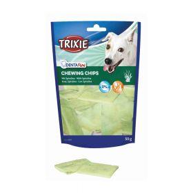 Trixie poslastica za pse Dentafun Chips light sa spirulinom, 50 g