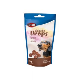 Trixie poslastica za pse Drops čokolada 75 g