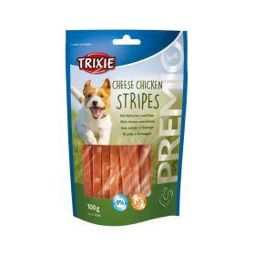 Trixie poslastica za pse Premio Chicken Cheese stripes 100 g