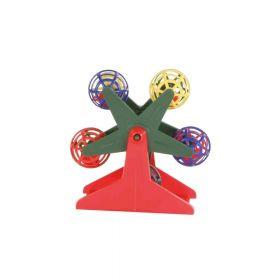 Trixie igračka za ptice vrtuljak s lopticama, 10 cm