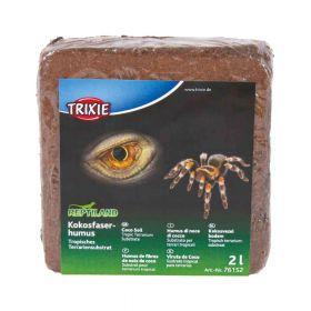 Trixie podloga za terarije Coco soil press, 2 l