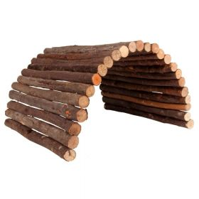 Trixie drveni most za glodavce, fleksibilan 65x40 cm