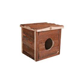 Trixie drvena kućica za glodavce Jerrik 15x14x13 cm