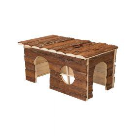 Trixie drvena kućica za glodavce Jerrik 40x23x20 cm