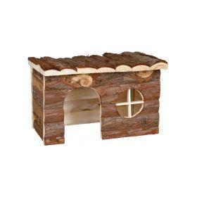 Trixie drvena kućica za glodavce Jerrik 28x18x16 cm