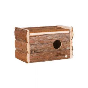 Trixie gnijezdo prirodno drveno za ptice 21x13x12 cm