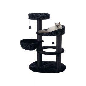 Trixie grebalica za mačke Filippo 114 cm crna