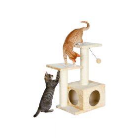 Trixie grebalica za mačke Valencia 71 cm bež