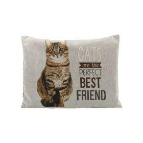 Trixie jastuk za mačke Chipo 60x48 cm sivi