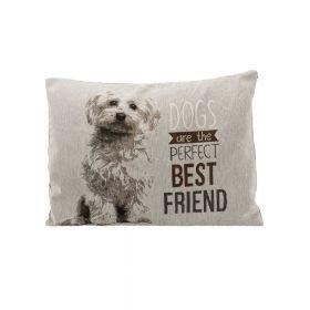 Trixie jastuk za pse Chipo Maltezer 60x48 cm sivi
