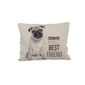 Trixie jastuk za pse Chipo Pug 60x48 cm sivi