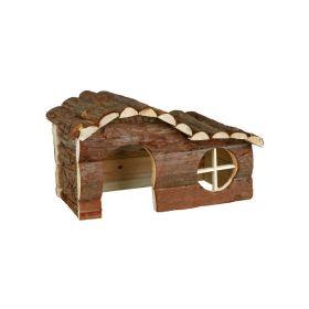 Trixie drvena kućica za glodavce Hanna za zamorčiće 31x19x19 cm