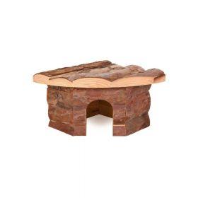 Trixie drvena kućica za glodavce Jesper za hrčka 22x10x15 cm