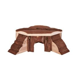 Trixie drvena kućica za glodavce Thordis za zamorčiće 35x15x37 cm