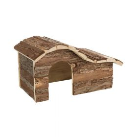 Trixie drvena kućica za glodavce Hanna za hrčka 26x16x15 cm