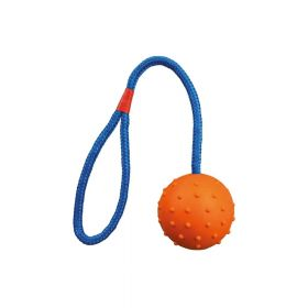 Trixie igračka za pse Lopta sa špagom fi 6 cm