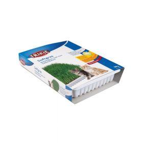 Trixie trava za mačke Bio meka vitamini u posudi, 100 g