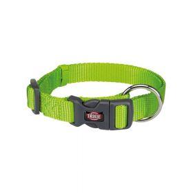 Trixie ogrlica za pse Premium S-M 30-45 cm/15 mm svjetlozelena