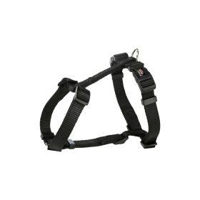 Trixie oprsnica za pse H Premium L-XL 75-120 cm/25 mm crna