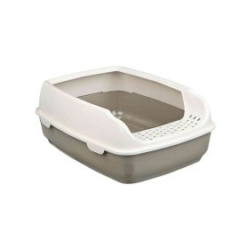 Trixie otvoreni WC za mačke Delio s rubom, 35x20x48 cm
