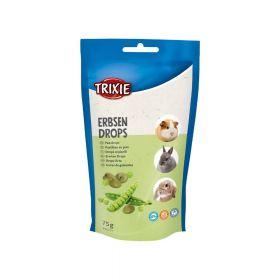 Trixie poslastica za glodavce Drops grašak 75 g
