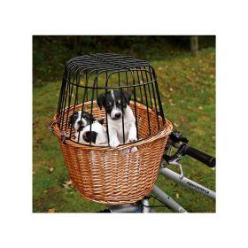 Trixie košara za bicikl 44x48x33 cm crna