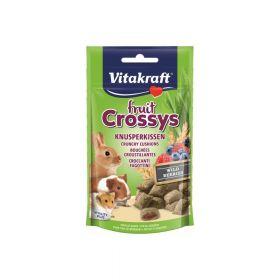 Vitakraft poslastica za kuniće, zamorce i hrčke Fruit Crossys šumsko voće