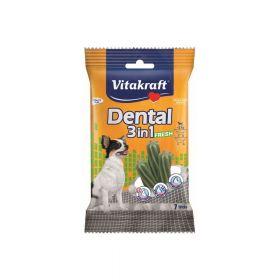 Vitakraft poslastica za pse Dental fresh 3u1 XS, 70 g