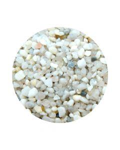 BioAqua Kvarcni Bijeli šljunak obli 2-4 mm 2,5 kg