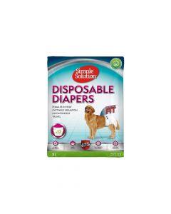 Simple Solution pelene za pse Disposable Diapers, gaćice XL