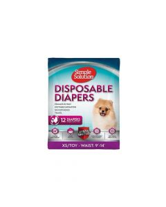 Simple Solution pelene za pse Disposable Diapers, gaćice XS