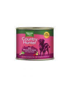 Natures Menu Country Hunter fazan i guska 600 g, konzerva
