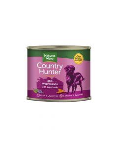 Natures Menu Country Hunter divljač i borovnica 600 g, konzerva