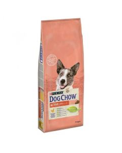 Dog Chow Adult Active piletina 14 kg