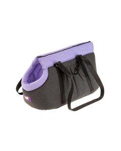Ferplast torba za pse Borsello M ljubičasta