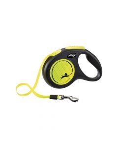 Flexi New Neon M traka 5 m neon žuta