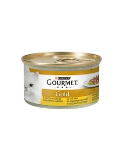 Gourmet Gold double govedina i piletina 85 g