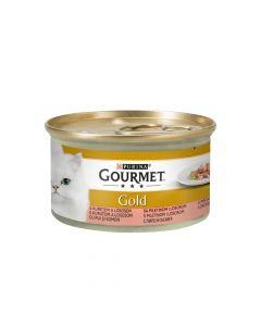 Gourmet Gold losos i piletina 85 g