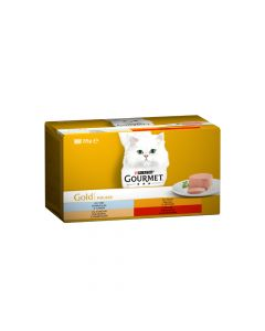 Gourmet Gold multipack mousse 4x85 g