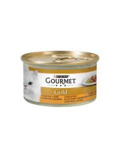 Gourmet Gold piletina, srce i jetra 85 g
