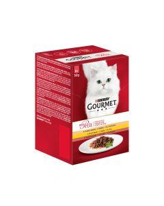 Gourmet Mon Petit puretina, piletina, pačetina 6 x 50 g