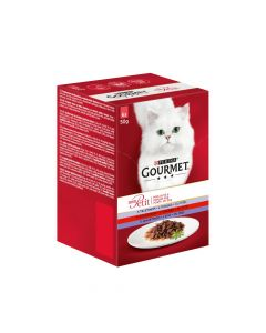 Gourmet Mon Petit teletina, govedina, janjetina 6 x 50 g