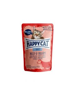 Happy Cat Govedina i srce 85 g  vrećica